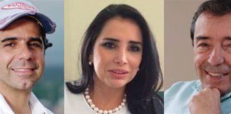 Aida Merlano, Alejandro y Fuad Char