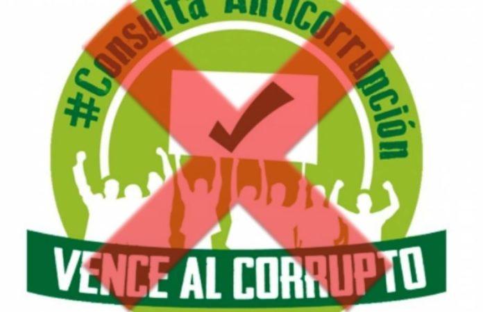 No va más la consulta anticorrupción