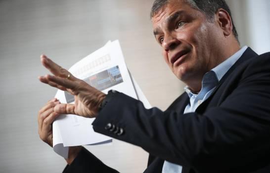 Fiscalía ecuatoriana pide máxima pena para Correa por corrupción